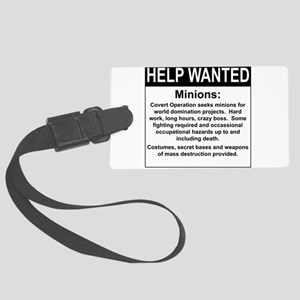 HelpWanted Luggage Tag