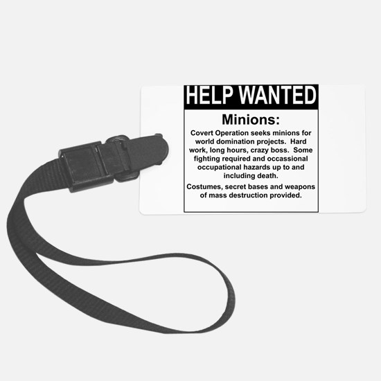 HelpWanted.png Luggage Tag