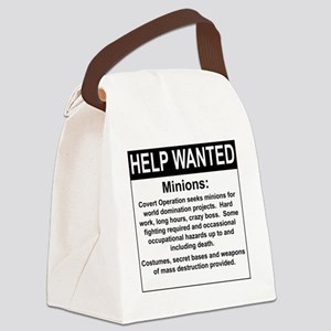 HelpWanted Canvas Lunch Bag