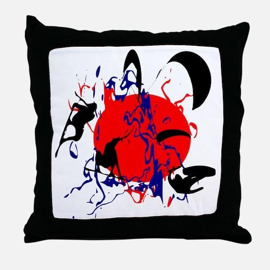 Unique Casa Throw Pillow