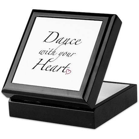 Dance with your Heart Keepsake Box