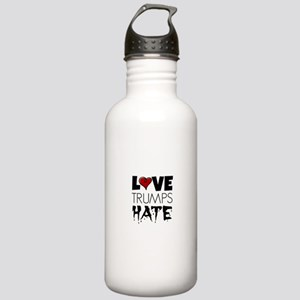 Love Trump Hates Stainless Water Bottle 1.0L