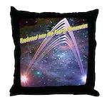 fourth-dimension-space Throw Pillow