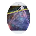 fourth-dimension-space Oval Ornament
