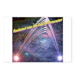 fourth-dimension-space Postcards (Package of 8