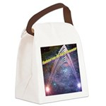 fourth-dimension-space Canvas Lunch Bag