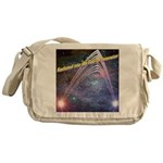 fourth-dimension-space Messenger Bag