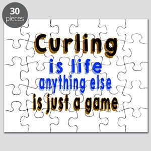 Curling Is Life Anything Else Puzzle