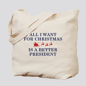 Christmas President Tote Bag