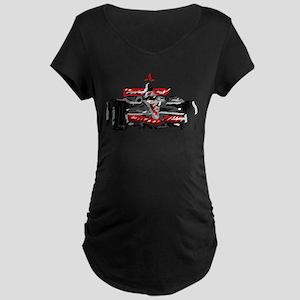 Race car Maternity T-Shirt