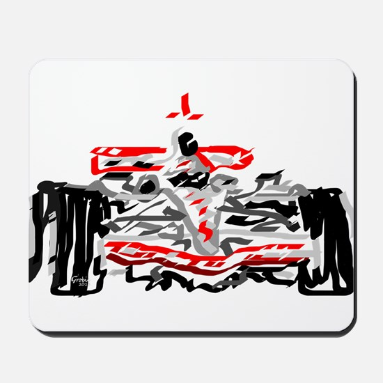 Race car Mousepad