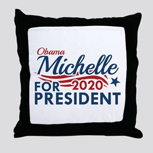 Michelle Obama 2020 Throw Pillow