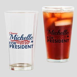 Michelle Obama 2020 Drinking Glass
