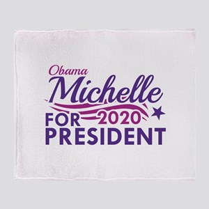 Michelle Obama 2020 Stadium Blanket