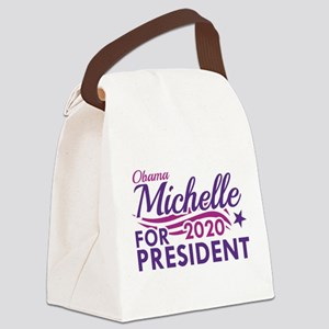 Michelle Obama 2020 Canvas Lunch Bag