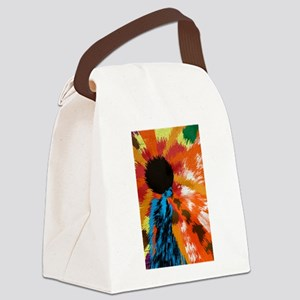 Righteous Afro Funk Canvas Lunch Bag