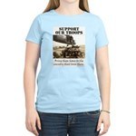 Support Our Troops Women's Light T-Shirt
