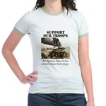 Support Our Troops Jr. Ringer T-Shirt