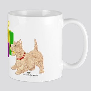 Christmas Scottie Dogs Mug