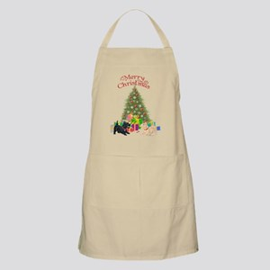Christmas Scottie Dogs Apron