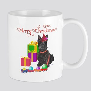 Scottie Christmas Elf Mug