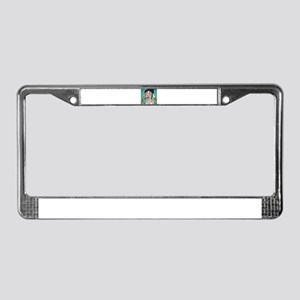 Sushi Dragon Monster Girl License Plate Frame