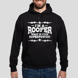 Funny Roofer Hoodie (dark)