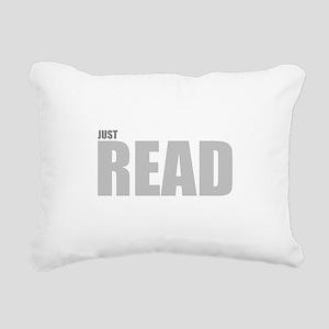 READ Rectangular Canvas Pillow