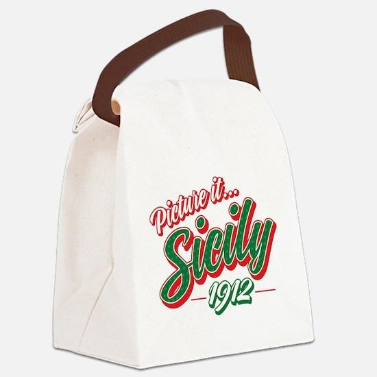 Golden Girls - Sicily 1912 Canvas Lunch Bag