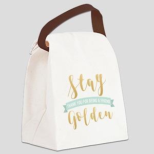 Golden Girls - Stay Golden Canvas Lunch Bag