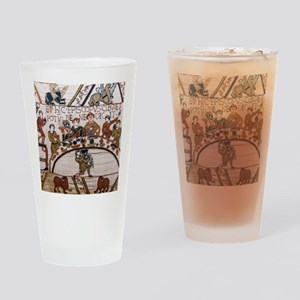 Bayeux Tapestry Drinking Glass