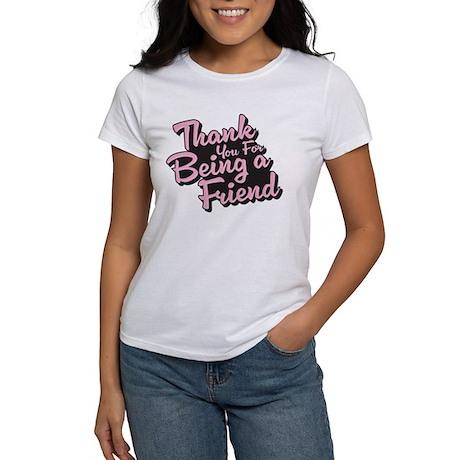 Golden Girls - Being a Friend Women's T-Shirt