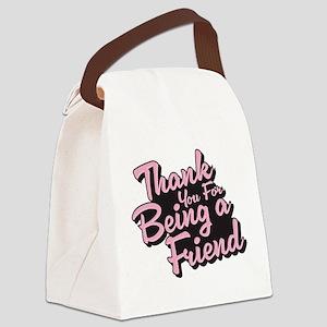 Golden Girls - Being a Friend Canvas Lunch Bag