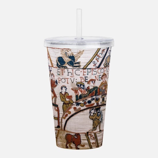 Bayeux Tapestry Acrylic Double-wall Tumbler