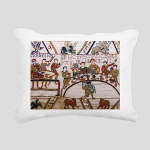Bayeux Tapestry Rectangular Canvas Pillow