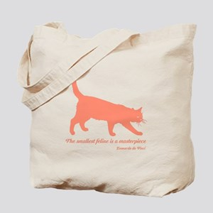 Feline Masterpiece Tote Bag