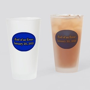 End of an Error January 20 2021 Tru Drinking Glass
