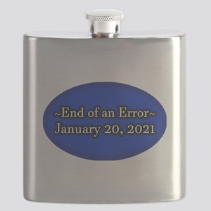 End of an Error January 20 2021 Trump Flask