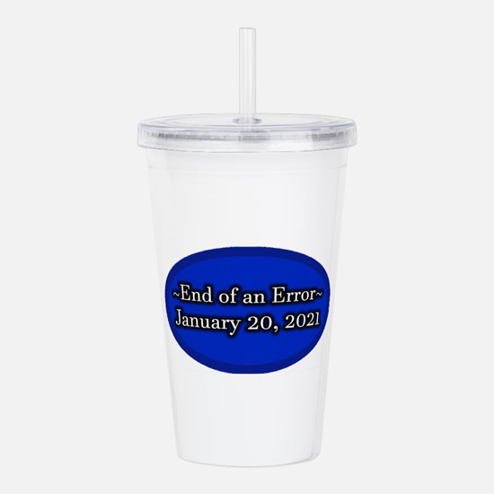 End of an Error Januar Acrylic Double-wall Tumbler