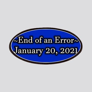 End of an Error January 20 2021 Trump Patch