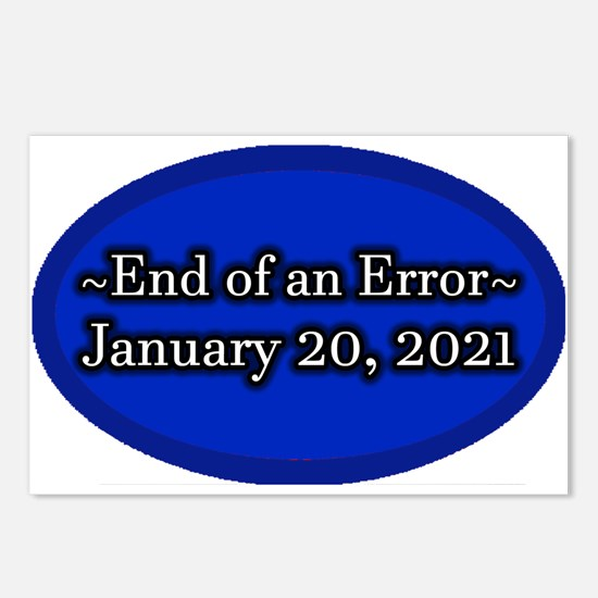End of an Error January 2 Postcards (Package of 8)