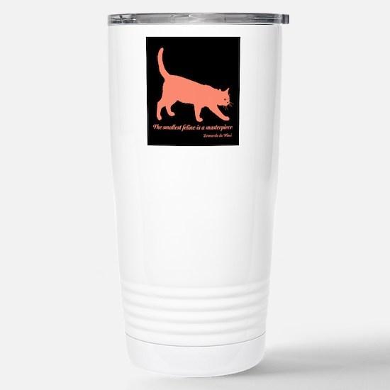 Feline Masterpiece Travel Mug