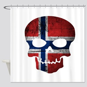 Norwegian Shower Curtain