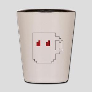 cup logo Shot Glass