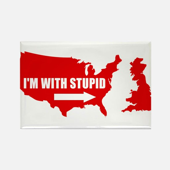 I'm with stupid Magnets