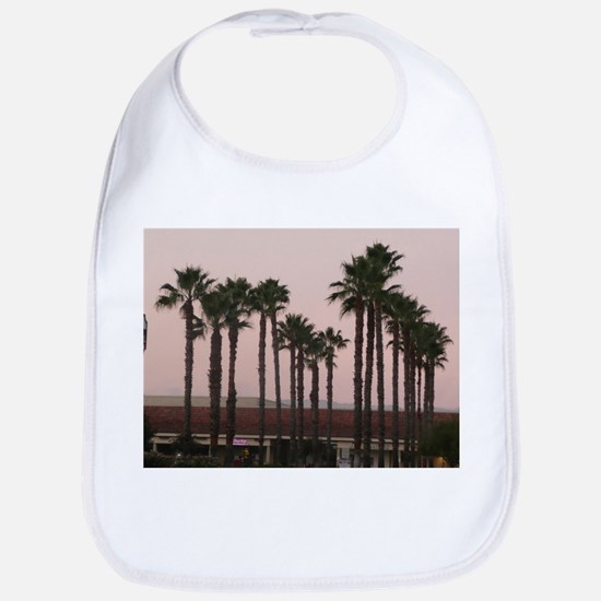 grove of palm trees on A Baby Bib