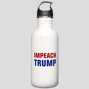 Impeach Trump Sports Water Bottle