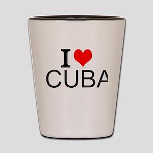 I Love Cuba Shot Glass