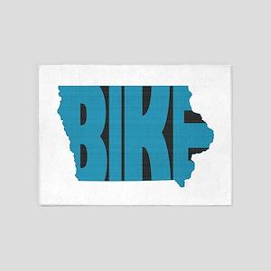 Bike Iowa 5'x7'Area Rug