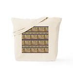 Painted Egyptian Hieroglyphics Tote Bag